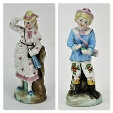 Vintage pair of 19th century porcelain figurines, Germany. (BI#MK/170502)