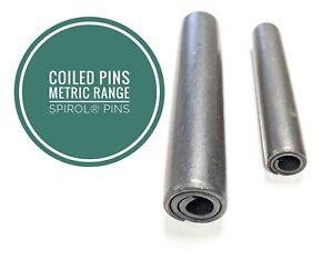 Coiled Pins, Spirol ® Pins Spiral 6mm Diameter