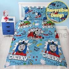 THOMAS & FRIENDS DUVET COVER SET NEW TANK ENGINE SKETCHBOOK