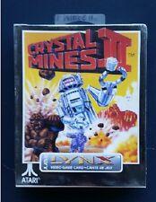 CRYSTAL MINES II   Atari LYNX New Sealed Complete