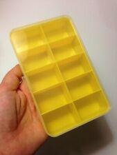 M01564-YELLOW MOREZMORE Plastic Box Storage Compartment Container Small Parts