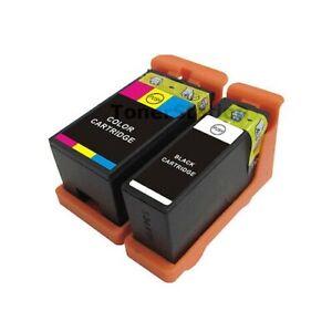 2 x Ink Cartridge Compatible for Dell 21/22/23/24 V313W V515W V715W V313 P513W