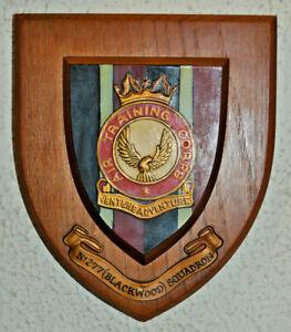 277 Blackwood Squadron Air Training Corps plaque crest shield ATC RAF Cadets