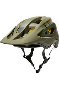 New Fox Racing Speedframe Pro MIPS Mountain Bike Helmet Olive Green Size Medium