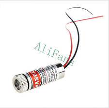 650nm 5mW Red Laser Line Module Focus Adjustable Laser Head 5V Industrial Grade