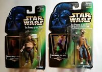 Star Wars Action Figures Jabba The Hut Loyalist Yak Face & Malakili Sealed (See