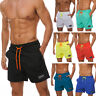 Mens Beach Board Shorts Swimwear Trunks Running Sports Quick-dry Pockets Lined