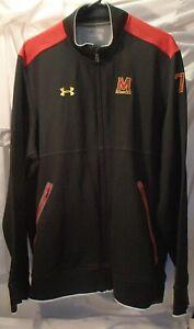 Under Armour University of Maryland Terps Zipped Athlete Jacket Mens