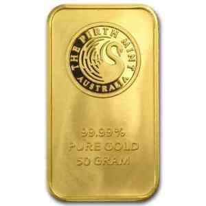 50 gram Gold Bar - Secondary Market