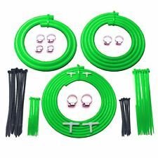 Ford Focus ST170 2.0 Green Engine Bay Silicone Hose Car / Turbo Dress Up Kit