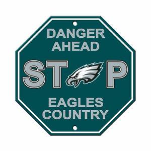 Fremont Die NFL New Philadelphia Eagles Stop Sign