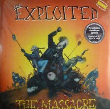 The Exploited ‎– The Massacre 2x LP Vinyl w Bonus Trks/Gateflold New (2014) Punk