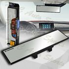 Broadway 300mm Wide Flat Interior Clip On Rear View Clear Mirror Universal 2