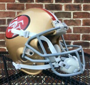 Jerry Rice San Francisco 49ers Vintage Bike Pro Air Authentic Football Helmet