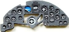 JUNKERS Ju 88 C-6 PHOTOETCHED, 3D, COLORED INSTRUMENT PANEL #7225 1/72 YAHU