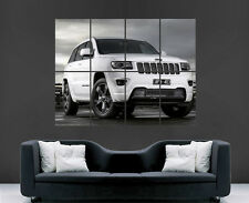 JEEP POSTER 4X4 CAR JEEP GRAND CHEROKEE OFF ROAD SPORT WALL ARY PRINT LARGE