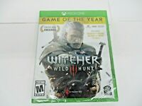 Microsoft The Witcher 3 Wild Hunt Complete Edition Xbox One WB Games New Sealed