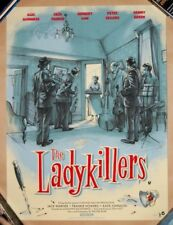 Jonathan Burton THE LADYKILLERS Screen Print Poster /120 Peter Sellers