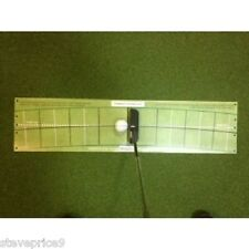 T STROKE GOLF PUTTING ARC MAT, PRACTICE TRAINING AID.