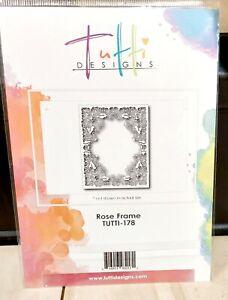 Tutti Designs Die Rose Frame TUTTI-178 NEW FREE P & P