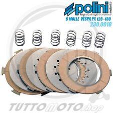 POLINI SERIE 4 DISCHI FRIZIONE RACING 6 MOLLE VESPA PE PX 125 150