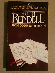 From Doon with Death by Ruth Rendell (1980, Paperback) Inspector Wexford Mystery