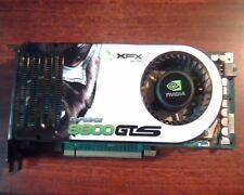 PCI-E X16 card GeForce 8800GTS XFX Nvidia 180-10356-0000-A01 dual DVI TV P356