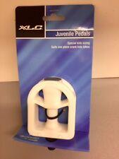 Bike Juvenile Pedals XLC -  Size 8cm x 6cm -  White Resin - Free Post