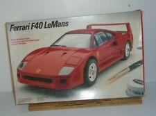 Italeri Testors Ferrari F40 LeMans 1/24 Model Cart Kit
