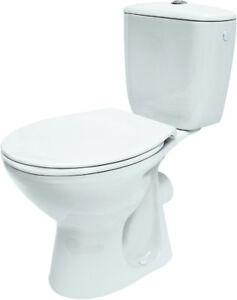 Wc-Kombi President Incl. Duroplast Toilet Seat Dispatch Horizontal