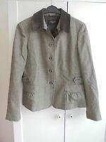 Original Max Mara Wolle Seide Jacke NP 659€ w NEU Designer Luxus Blazer Gr. 40 M