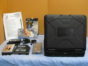 Black Panasonic Toughbook CF-31 MK5 2.3 1TB SSD 16gb *GARMIN GPS* Backlit WIN 7