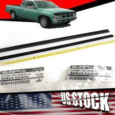 NISSAN HARDBODY PATHFINDER D21 PICKUP WINDOW GLASS SEALS DOOR BELT WEATHERSTRIP