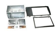 2-DIN Car Radio Panel Frame Volvo V70 S60 XC70 Black