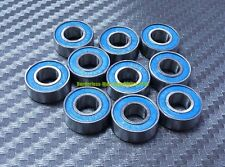 [20 Pcs] MR115-2RS (5x11x4 mm) Rubber Double Sealed Ball Bearing MR115RS (Blue)