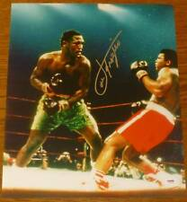 Smokin Joe Frazier Signed 16x20 Photo PSA/DNA COA Muhammad Ali Picture Autograph
