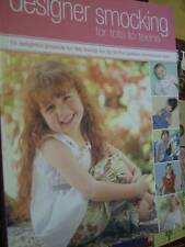 Designer Smocking For Tots To Teens Sewing Book-10 Projects, All Shown- Davies