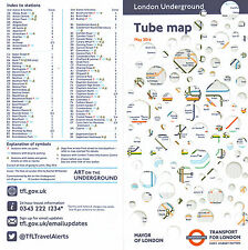 London Underground Tube Map / Guide 2014 May