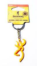 Browning Blaze Orange Buckmark Keychain - BKC1002