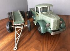 Vintage Smitty Toys Smith Miller Mack Truck w/Original Trailer