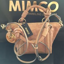 MIMCO PETITE SUPERNATURAL HIP CROSSBODY BAG HONEY leather D'bag rrp$299 SALE$226