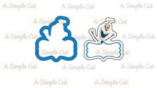 Olaf Frozen Plaque Cookie Cutter