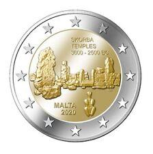 Malta 2 euro 2020 **Skorba Tempels**