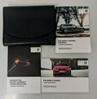 GENUINE BMW 3 SERIES TOURING F31 HANDBOOK OWNERS MANUAL 2012-2017 WALLET  L-18