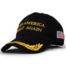2018 Collectibles Make America Great Again Hat Donald Trump Republican Cap Black