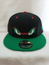 Lake Elsinore Strom Hat Cap Fitted 59FIFTY 7 1/8 MiLB New Era Black Rare AAA CA