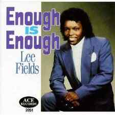 Lee Fields - Enough Is Enough -  New Factory Sealed CD