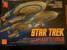 Star trek models 3 ships Enterprise NCC  1701, 1701 refit and 1701 b