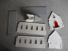 Vintage 1950s O Scale Plasticville Country Church Building #3
