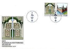 Denmark 2017 FDC Europa Frederiksborg Castle 2v Set Cover Castles Stamps